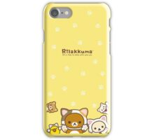 Rilakkuma Cute Cats iPhone Case/Skin