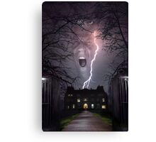 Storm House Canvas Print