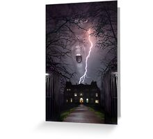 Storm House Greeting Card