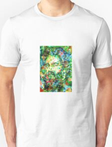 HERMAN MELVILLE watercolor portrait.3 Unisex T-Shirt