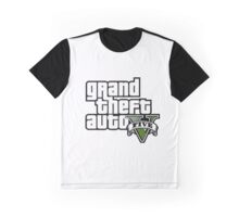 Grand Theft Auto Five! Graphic T-Shirt