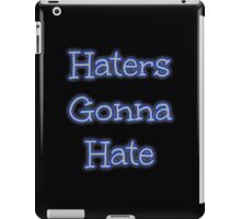 Haters iPad Case/Skin