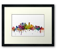 Minneapolis Minnesota Skyline Framed Print