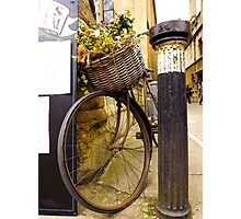 Old Timey Bike Oxford Photographic Print