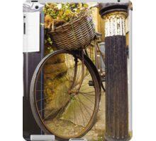 Old Timey Bike Oxford iPad Case/Skin