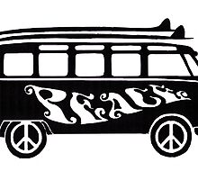 Peace Bus by Sharon Poulton