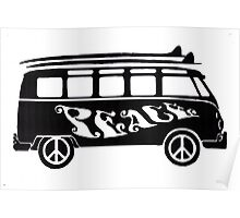 Peace Bus Poster