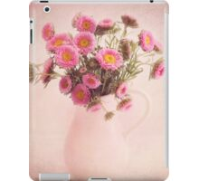 Bouquet  of pink and yellow flowers iPad Case/Skin