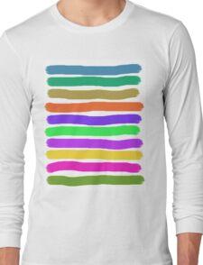 Brush Strokes #2 Veronica Long Sleeve T-Shirt