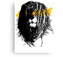 Lion rasta Metal Print