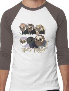 Harry Pugger Men's Baseball ¾ T-Shirt