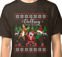 Dabbing Through the Snow Classic T-Shirt