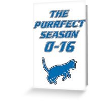 Motor City Kitties Perfect Season Greeting Card