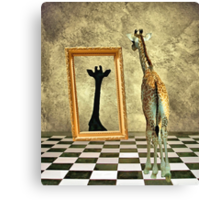 Giraffe Dreams Canvas Print