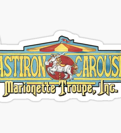 CastIron Carousel Window sticker Sticker
