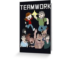 The Last Of Us - Teamwork Greeting Card