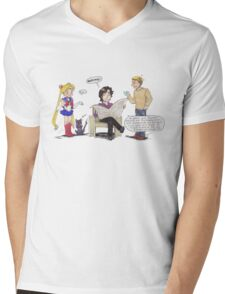 A New Client Mens V-Neck T-Shirt