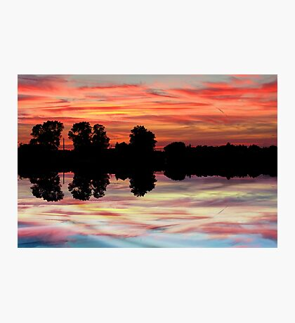 Another OMG sunset Photographic Print