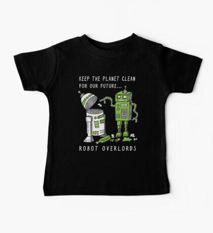 Robot Earth Baby Tee
