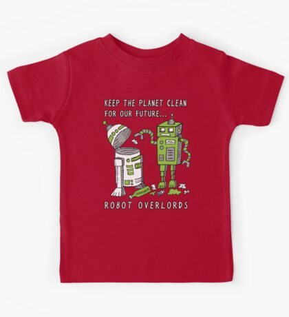 Robot Earth Kids Tee