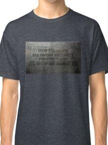 New Cumnock Penitentiary Plaque Classic T-Shirt