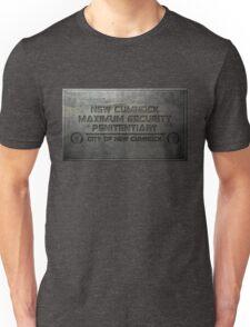 New Cumnock Penitentiary Plaque Unisex T-Shirt