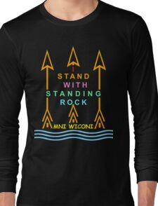 I stand with standing rock Long Sleeve T-Shirt