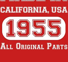 Made in California, USA, 1955.. All Original Parts !! by inkedcreatively