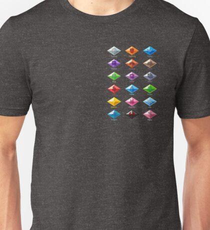 Pokemon - Alola League: Alola Region Z Ring Crystals Unisex T-Shirt