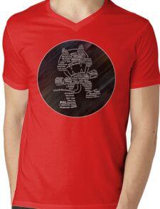 EDM crew Mens V-Neck T-Shirt