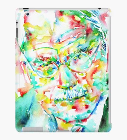 JUNG - watercolor portrait.2 iPad Case/Skin