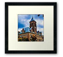 Lancaster Ohio Framed Print