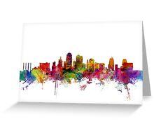 Kansas City Skyline Greeting Card
