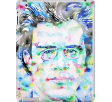 GUSTAV MAHLER - watercolor portrait iPad Case/Skin