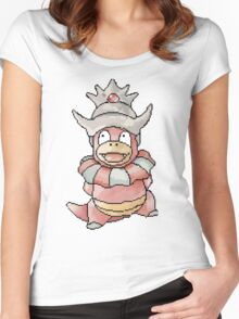 Pixel Slowking!  Women's Fitted Scoop T-Shirt