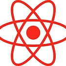 Simple Atom - Danger Red by sciencenotes