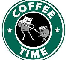 Coffee Time (Adventure Time)  by Alisha Mumby