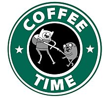 Coffee Time (Adventure Time)  Photographic Print