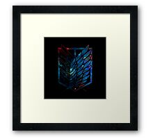 Wings Of Justice: Galaxy Framed Print