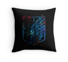 Wings Of Justice: Galaxy Throw Pillow