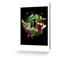 The Legend of Zim Greeting Card