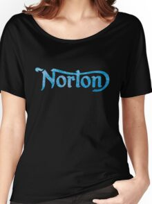 NORTON DISTRESSED RETRO VINTAGE Women's Relaxed Fit T-Shirt