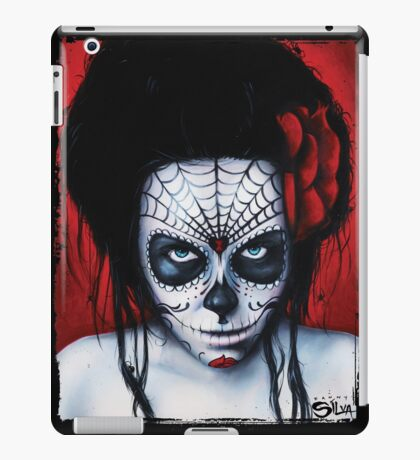 Widow - Day of The Dead Painting by Danny Silva iPad Case/Skin