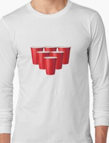 Beer Pong Long Sleeve T-Shirt