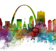 St Louis Missouri Skyline Sticker