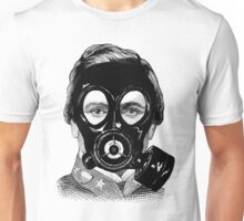 Gas Mask Man Unisex T-Shirt
