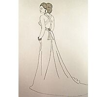 Wedding Dress No 4 Photographic Print