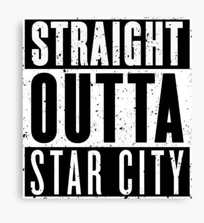 Straight Outta Star City Canvas Print