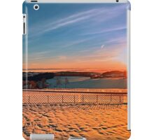 Colorful winter wonderland sundown IV | landscape photography iPad Case/Skin