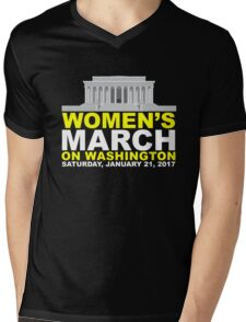 Women's March on Washington Mens V-Neck T-Shirt